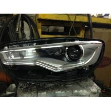 Audi A6 C7 ремонт фар